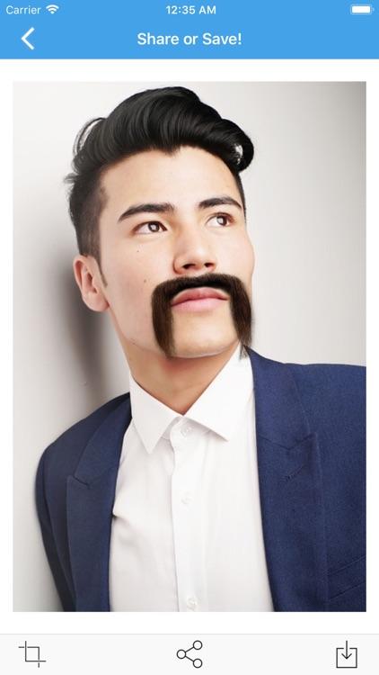 Mustache Photo screenshot-4