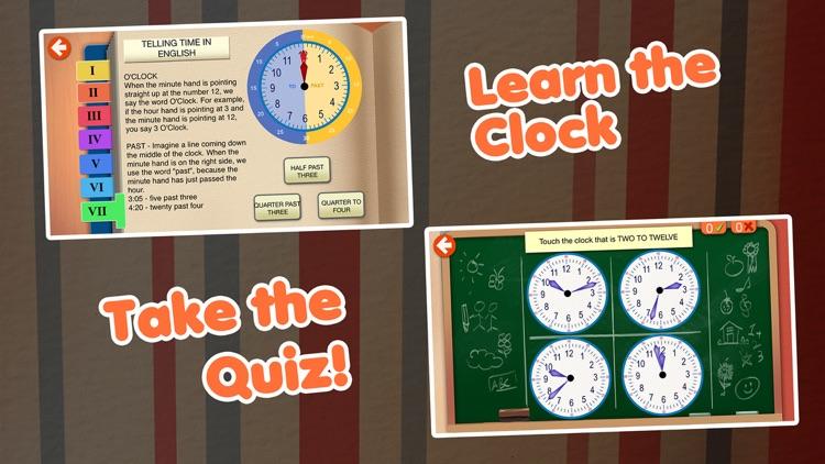 Interactive Telling Time Pro screenshot-3