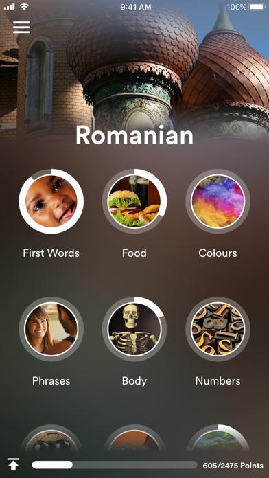 Learn Romanian screenshot one