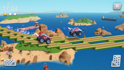Stunt Racing Car - Sky Driving Screenshot on iOS