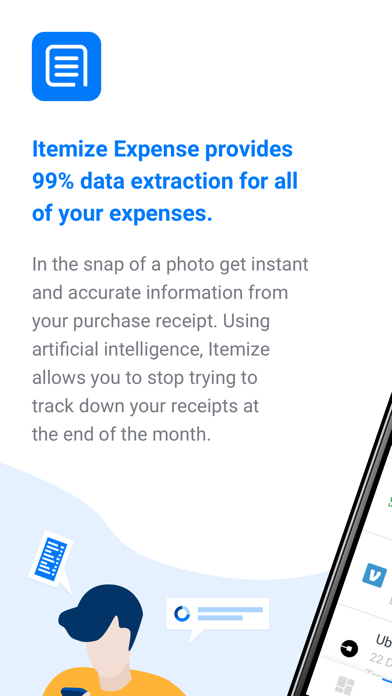 Itemize Expense by Itemize (iOS, United States) - SearchMan App Data