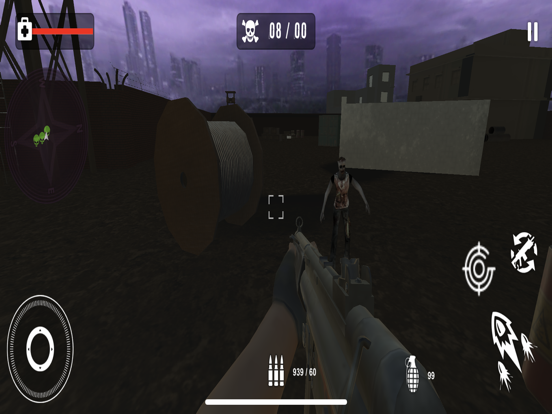 Survival Sniper Zombie Army 3D screenshot 7