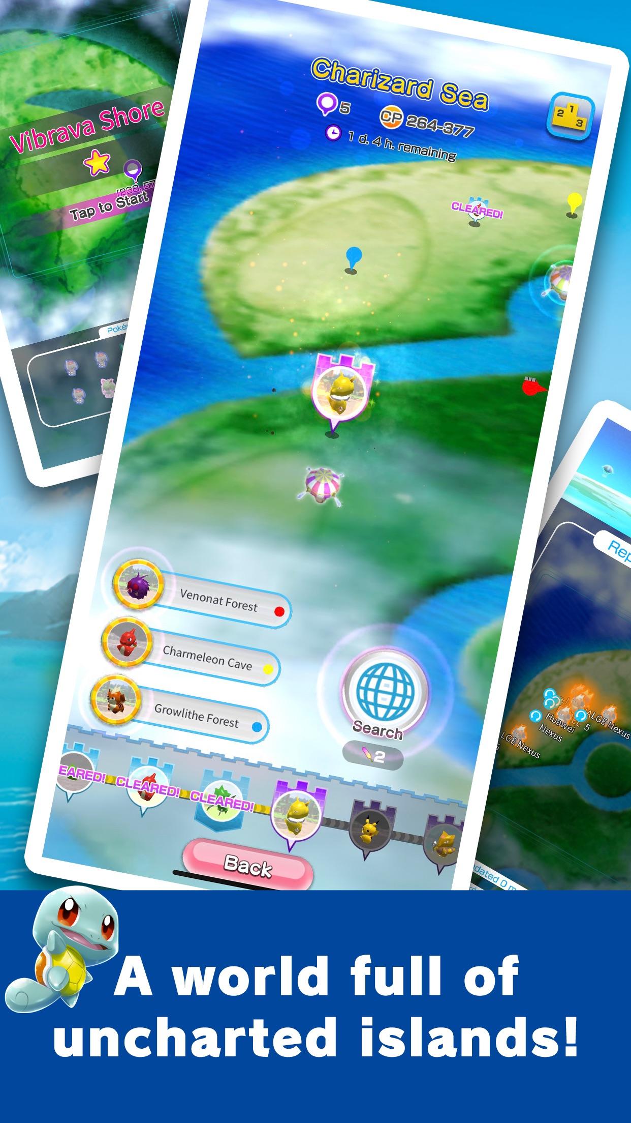 Screenshot do app Pokémon Rumble Rush