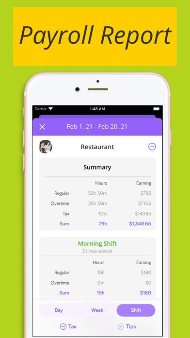 Shiftify:バイトの給料計算とシフト管理のスクリーンショット3