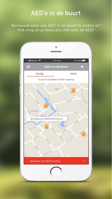 HartslagNu iPhone app afbeelding 4