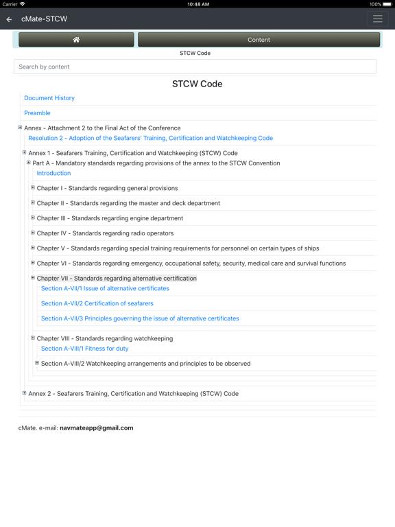 cMate-STCW screenshot #4