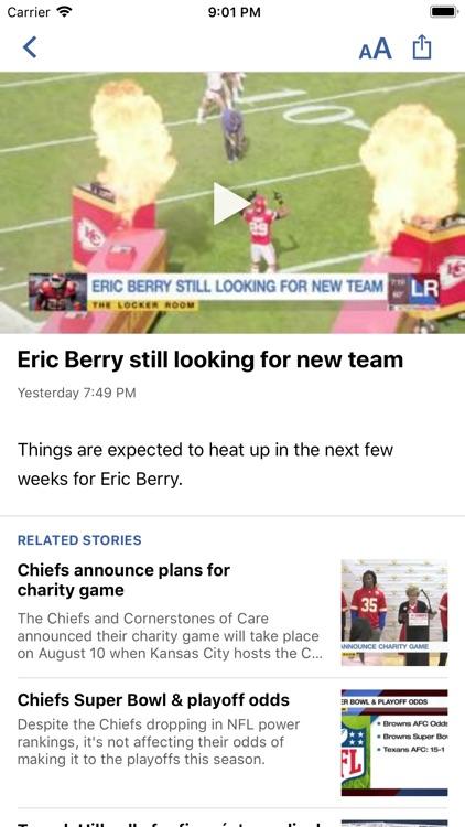 Football KC - KCTV Kansas City screenshot-3