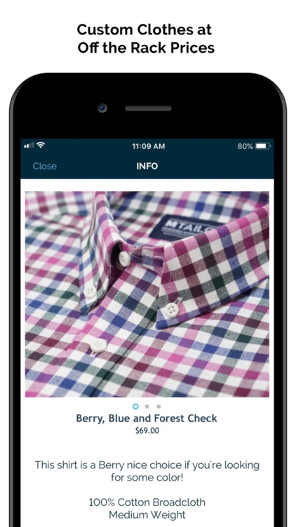 MTailor - Custom Clothing screenshot-4