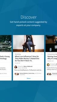 LinkedIn Elevate iphone images