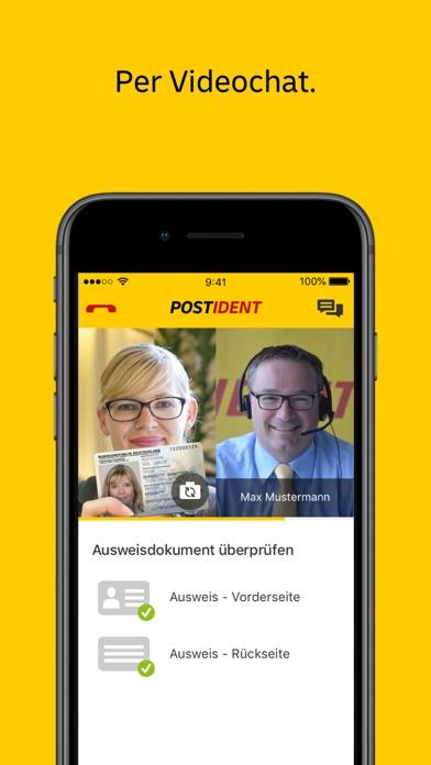 Screenshot for POSTIDENT in Austria App Store