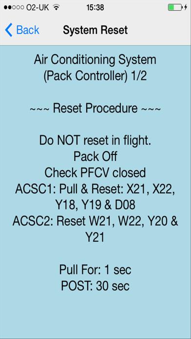 Airbus ECAM Resets+のおすすめ画像3