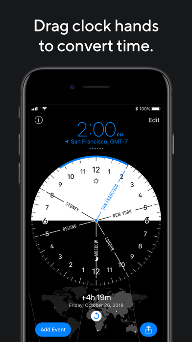 World Clock Pro Mobileのおすすめ画像2