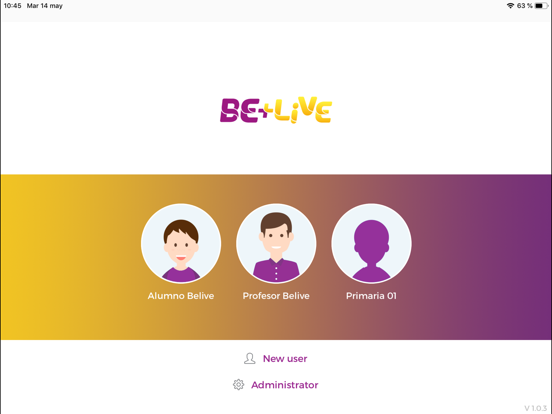 Be+Live app screenshot 1
