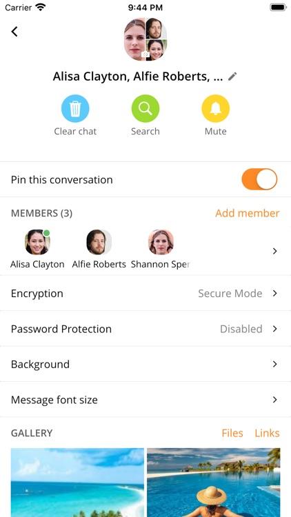 SafeChat — Secure Chat & Share