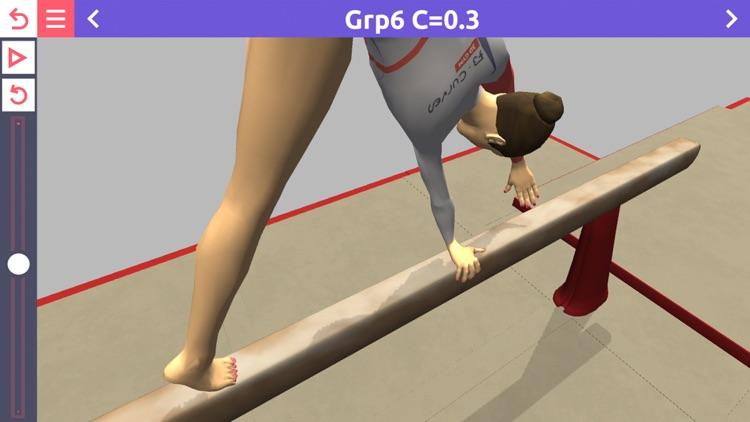 3D Gym Women - FB Curves screenshot-3