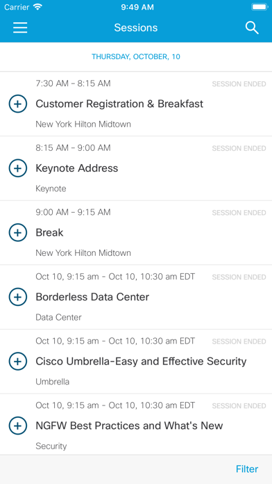 Cisco Events App wiki review and how to guide