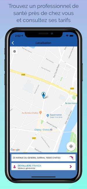 application iphone localisation par numero de telephone