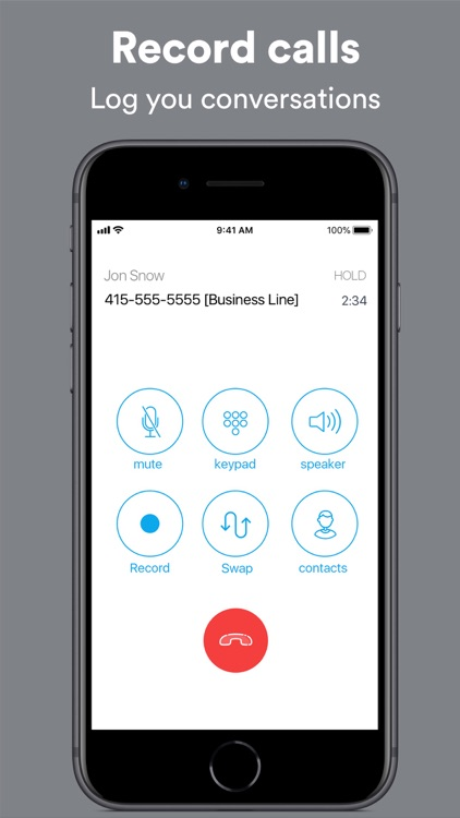 Ring4: Second Phone Number App screenshot-3