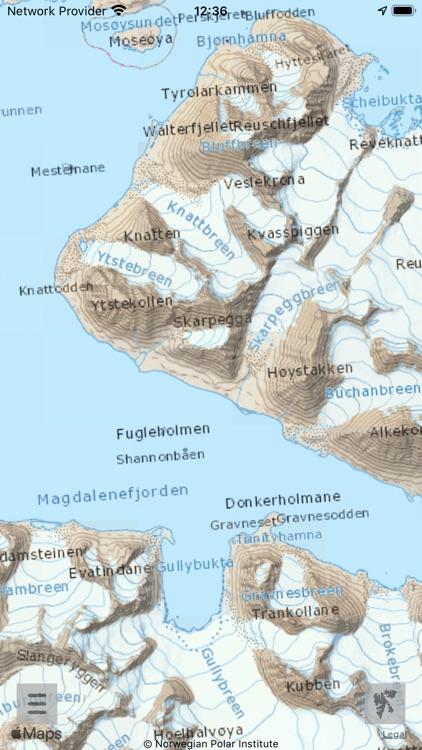 Here & there+ Svalbard 1:35000 screenshot-3