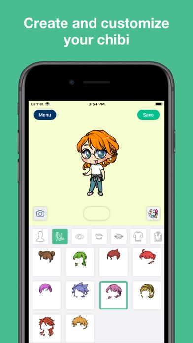 My Chibi - Widget game screenshot 1