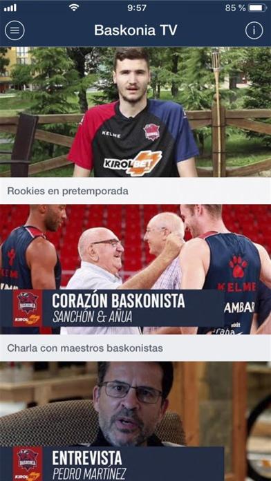 Saski Baskonia screenshot four