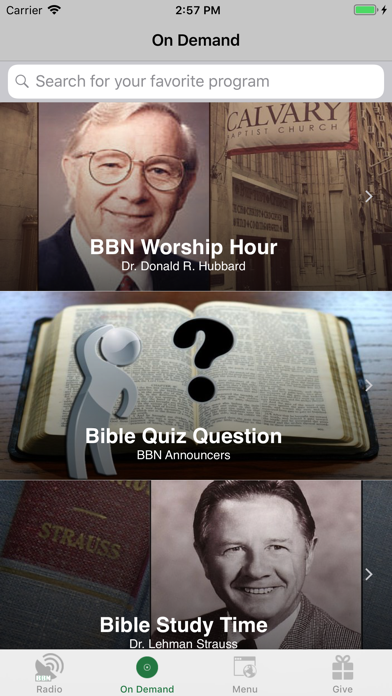 BBN - Christian Radio screenshot two