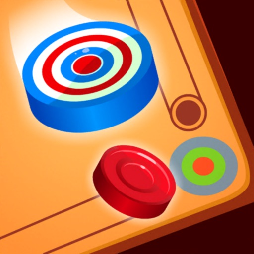 Carrom Disc Pool Board Game