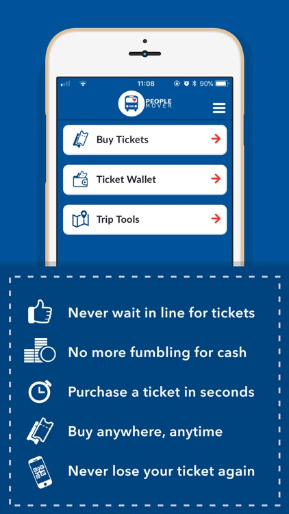 People Mover mTicket