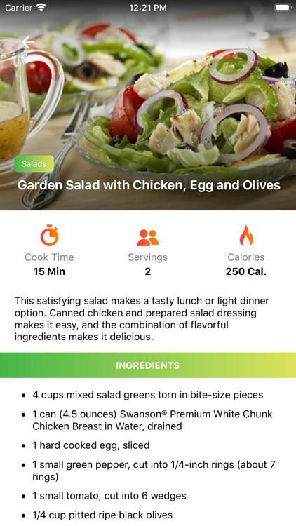 World Recipes - healthy food