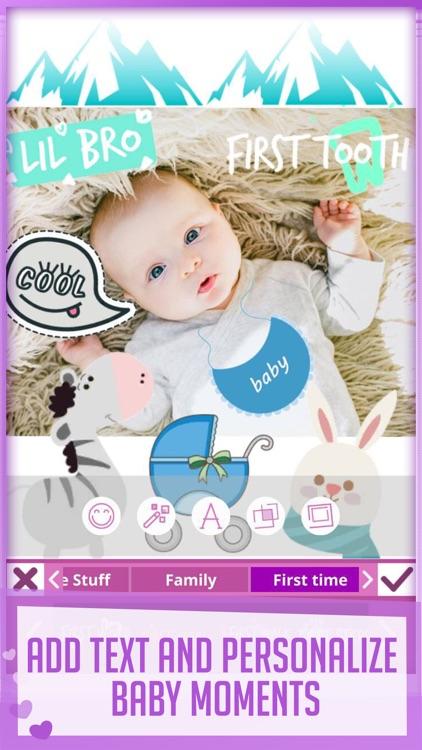 Babily - Baby Milestones Story screenshot-3