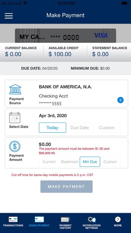 Texans Visa Card screenshot-3