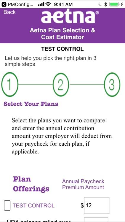 Aetna Plan Selection screenshot-3