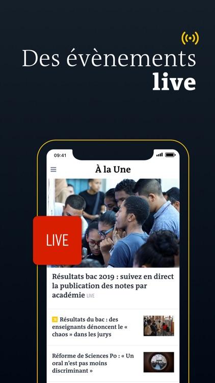 Le Monde, Actualités en direct screenshot-5