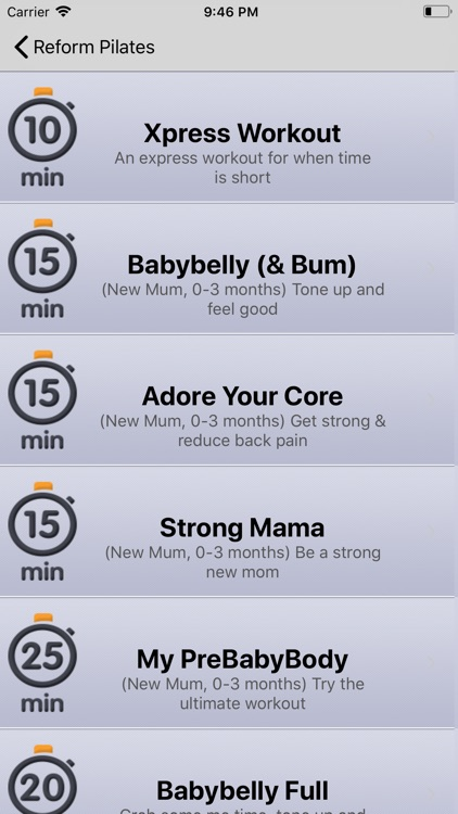 Postnatal Pilates by Reform screenshot-3