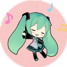 Miku And Team HD Sticker