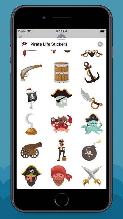 Pirate Life Stickers screenshot-4