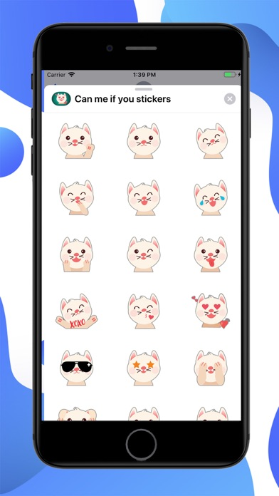 Can me if you Stickers screenshot 1