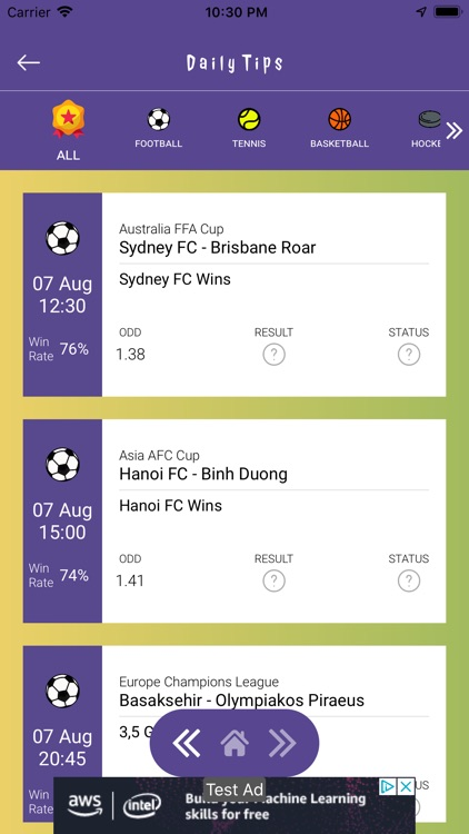 Betting Tips Predictor screenshot-6