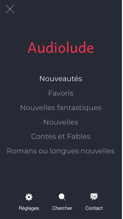Audiobooks in french screenshot-0