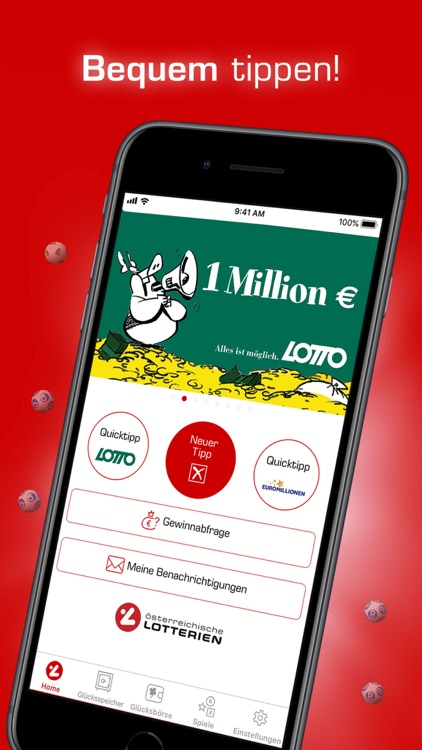 Lotterien App: sicher & bequem