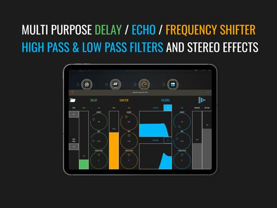 BLEASS delay AUv3 Audio Plugin