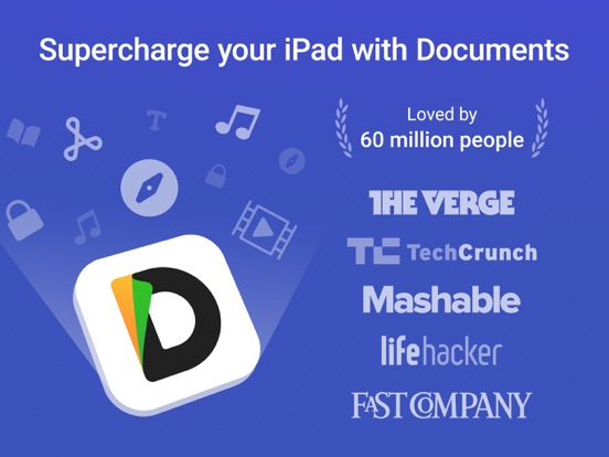 Documents 5 - Fast PDF reader, media player and download manager screenshot