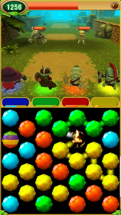 Dungeons & Puzzles: RPG Quest screenshot-4