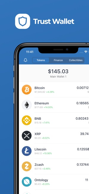 safest cryptocurrency wallet iphone
