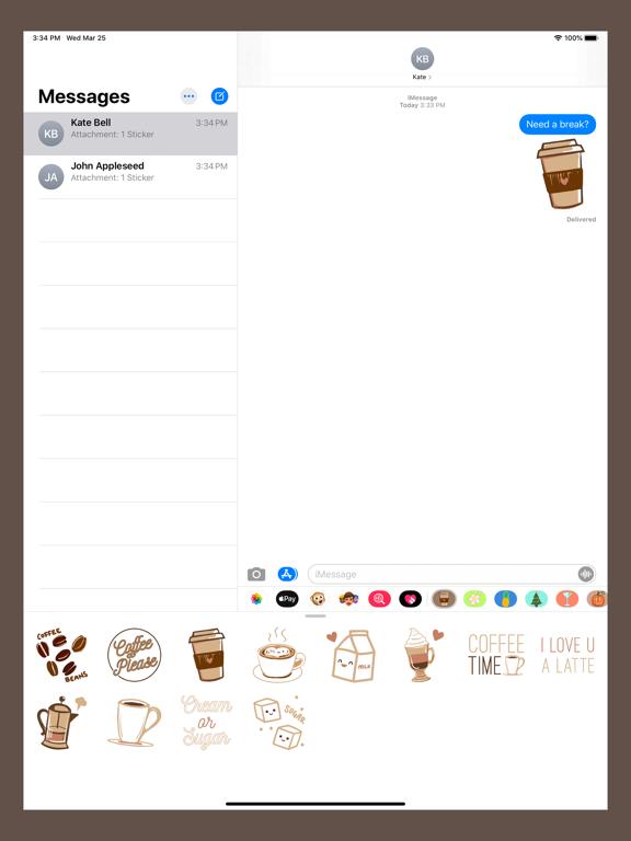Coffee Hour Stickers screenshot 5