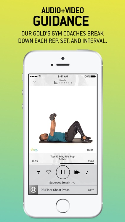 GOLD'S AMP Fitness & Training screenshot-3
