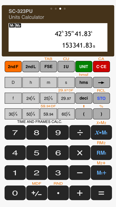 Scientific Calculator SC-323PU Screenshots