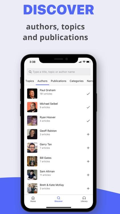 Listle - top stories, in audio screenshot-3