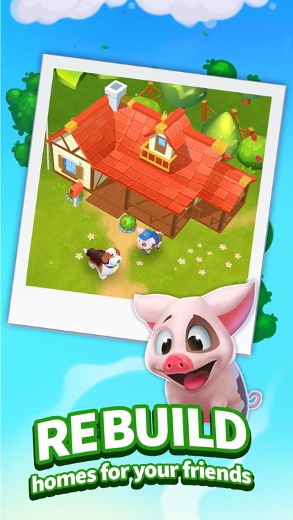 Backyard Bash: Match 3 Game screenshot-4
