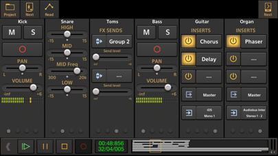 Screenshot #2 pour Audio Evolution Mobile Studio